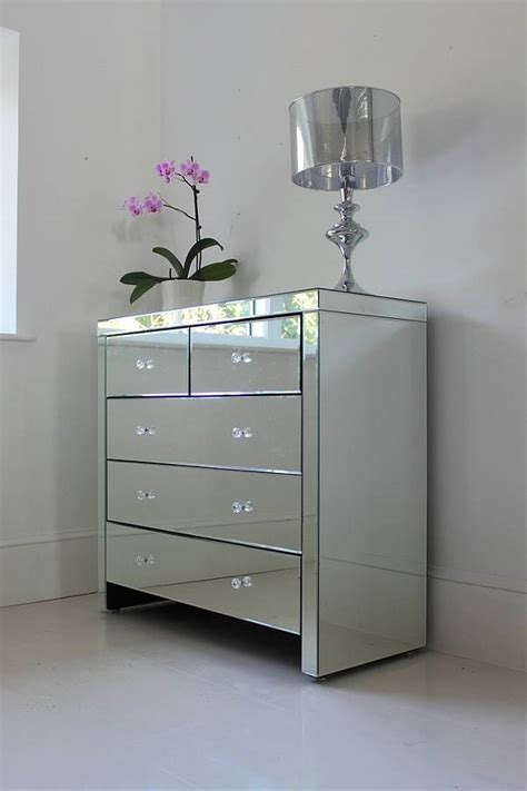 Mirror Chest Drawers by Large Mirrored Chest Of Drawers By Out There Interiors