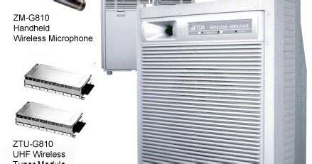 Harga Wireless Merk Toa kurnia musik semarang toa zw g 810cu wireless lifier
