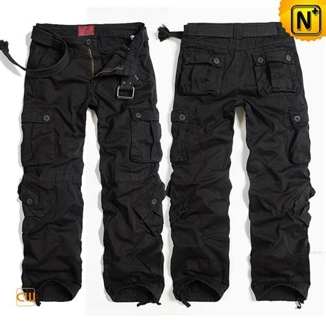 Mens Buffalo Outdoor Pant 78 Sz 34 100 Original black hiking cargo for cw100017