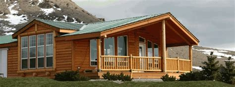 Wide Log Cabin Mobile Homes by Www Forahouse What A Beautiful Home They Offer So