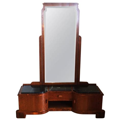 Length Mirror Dresser by Deco German Dressing Table With Length Mirror At