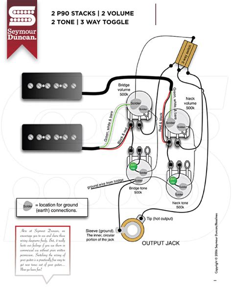 wiring diagrams seymour duncan part 22