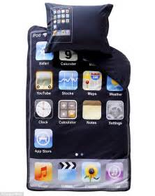 Cool Double Duvet Covers Idream Of Genius The Iphone Duvet That Will Delight