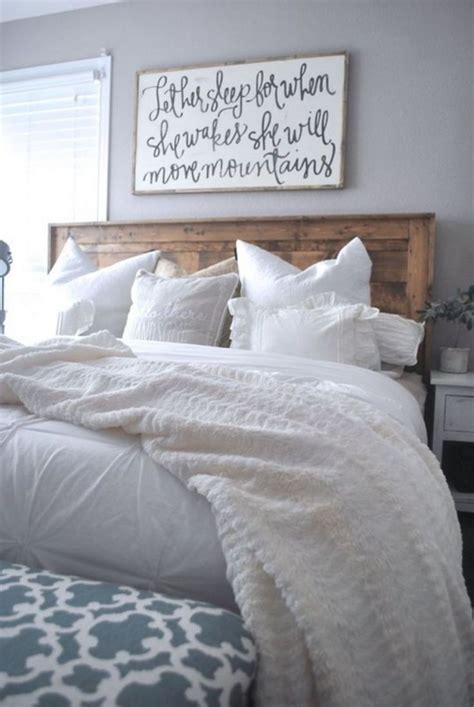 farmhouse bed ideas  pinterest woodworking