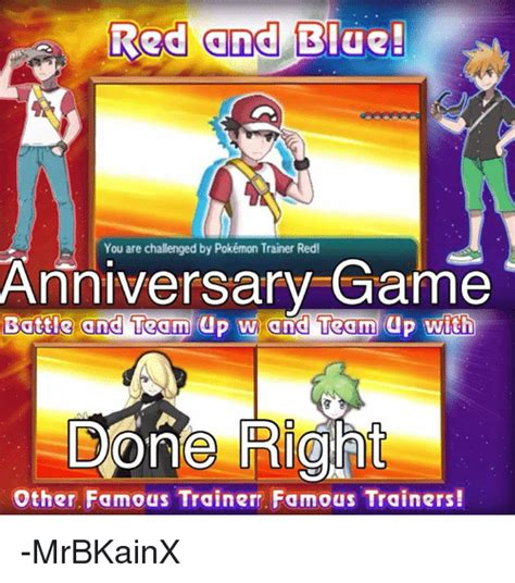 Pokemon Trainer Red Meme - 25 best memes about pokemon trainer red pokemon trainer