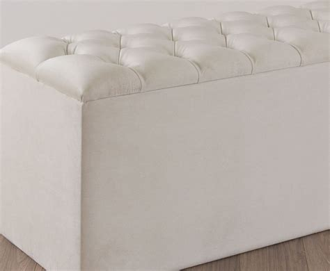 quilted ottoman quilted faux suede ottoman just ottomans