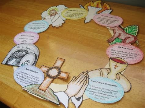 tell me about easter die cut books wee miracles make an easter story wreath free