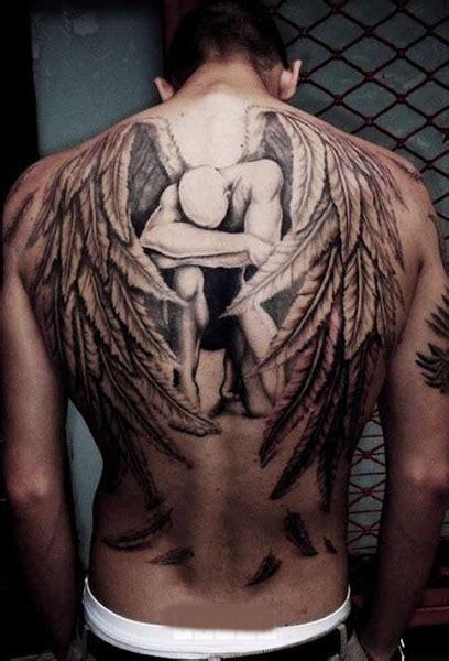 Imagenes De Tatuajes De Un Angel | tatuaje angel espalda