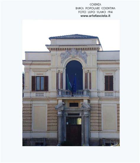 banco di napoli cosenza arte italiana