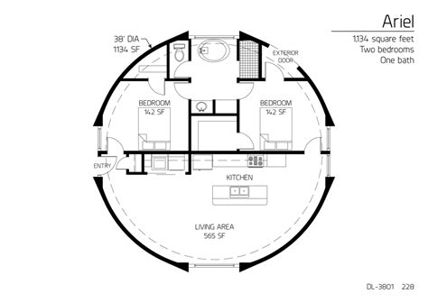 floor plan dl 3215 monolithic dome institute floor plan dl 3801 monolithic dome institute