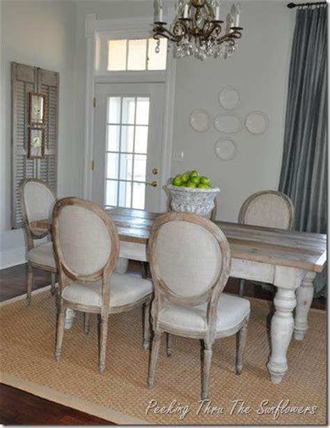 Formal Dining Room With Farmhouse Table Table 6 Farm Style Tables