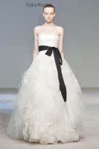 vera wang wedding dress wedding place black and white wedding dress timeless classic bridal