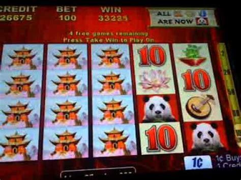 wild panda slot machine bonus win youtube