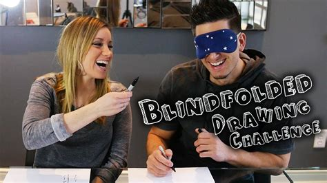 The Blindfolded Drawing Challenge