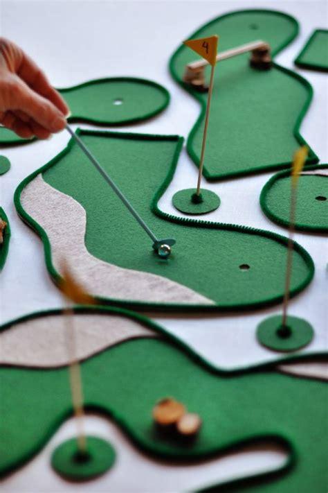 minigolf da giardino fabriquer un golf miniature golf giochi