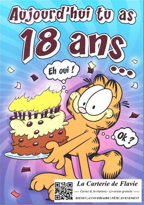Voeux D Anniversaire Humoristique 18 Ans Leila Brugui 232 Re
