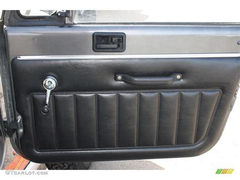 Jeep Yj Door Panels 1986 Jeep Cj7 Renegade 4x4 Door Panel Photos Gtcarlot