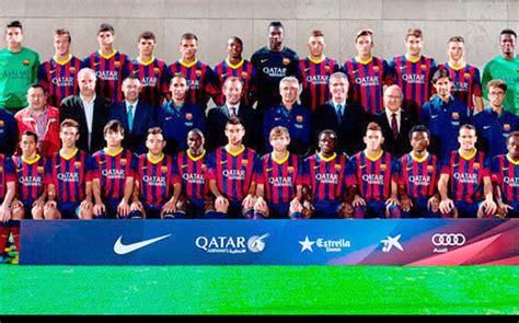 barcelona juvenil a solo nueve jugadores del juvenil ce 243 n chions siguen