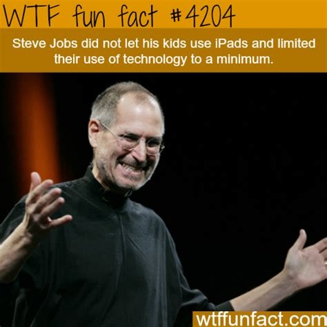 interesting facts steve jobs biography steve jobs and his kids wtf fun facts