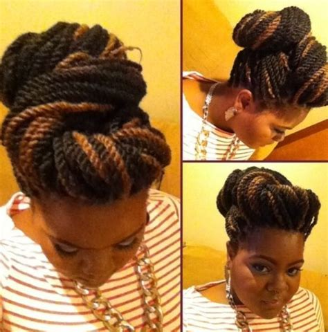 hairstyles with marley hair updos 17 best images about marley twist styles on pinterest