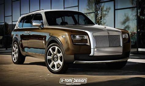 Rendering Rolls Royce Cullinan Suv