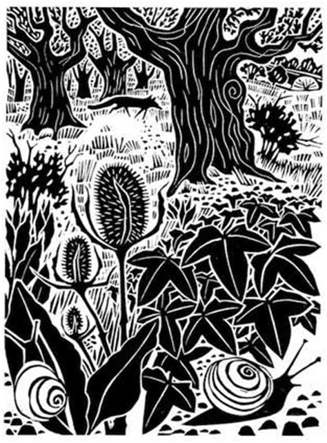 587 best images about Linocuts on Pinterest   Etchings