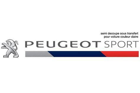 logo peugeot sport peugeot sport stickers dark peugeot sport store
