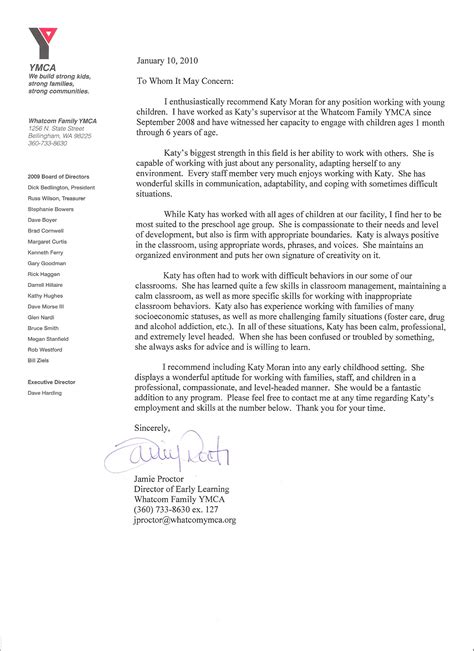 Ymca Volunteer Cover Letter by Writing A Letter Of Recommendation Ymca Cs Websitereports991 Web Fc2