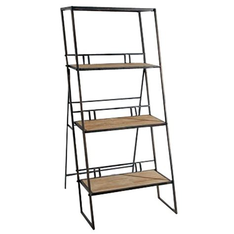 estante para livros rustica estante escada de parede r 250 stica metal e madeira r 2