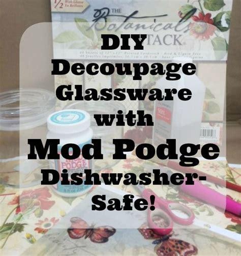 Dishwasher Safe Decoupage - the world s catalog of ideas