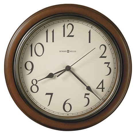 wall clock howard miller kalvin wall clock 625418
