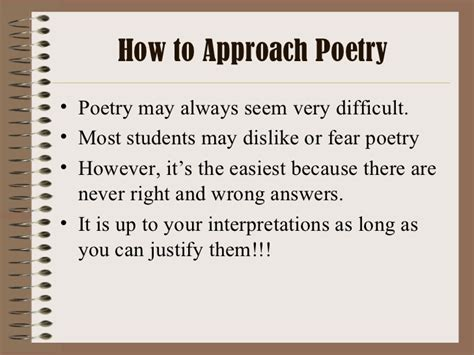 how to how to analyze a poem