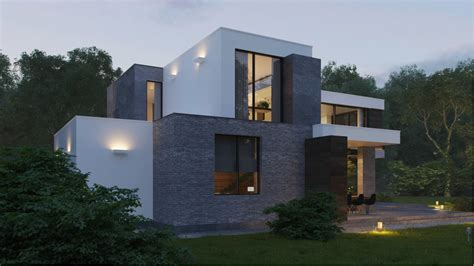 modern home exteriors with stunning outdoor spaces plus