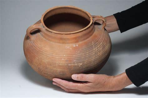 vaso romano antico antica romano terracotta vaso molto grande 23 29 cm