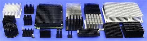 pin fin heat sink cold forging technology and pin fin heat sinks