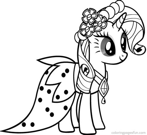 coloring page pony my pony coloring page az coloring pages