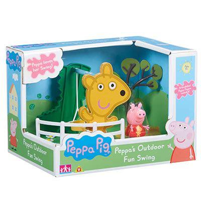 peppa pig swing playset peppa pig outdoor fun swing and slide playset peppa pig