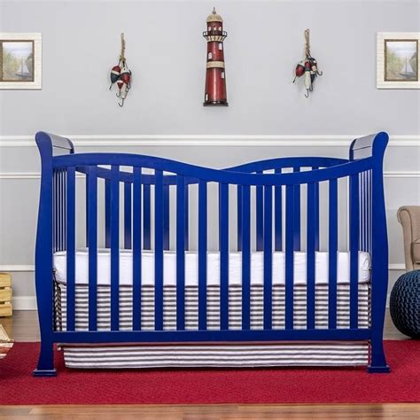 Royal Crib by On Me Violet 7 In 1 Convertible Style Crib In