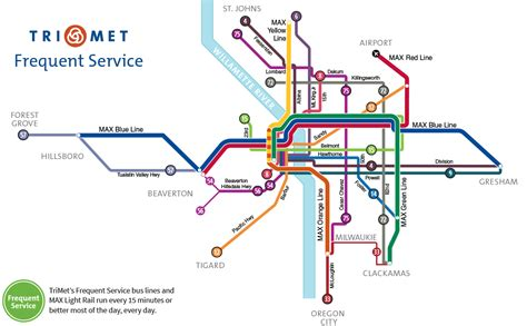 trimet max map portland oregon max map oregon map