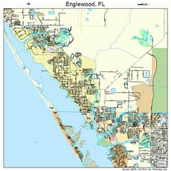Englewood Florida Map by Englewood Florida Street Map 1220825