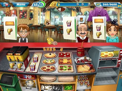 cooking fever moves time management games   kitchen