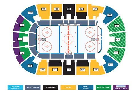 seating chart ricoh coliseum