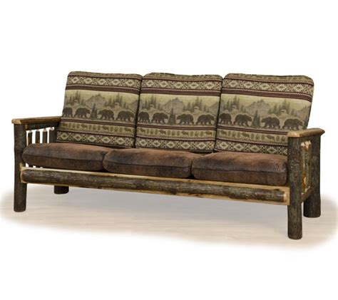 Rustic Sofas by Rustic C Sofa Farmhouse And Cottage