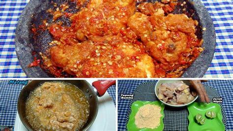 youtube membuat rolade ayam resep cara membuat ayam geprek paling simpel super pedas