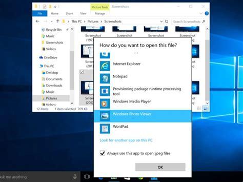 visor de imagenes windows 10 descargar كيفية إسترجاع windows photo viewer لعرض الصور في ويندوز 10