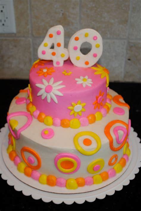 40th Birthday Cakes by Sweet G 40th Birthday Cake