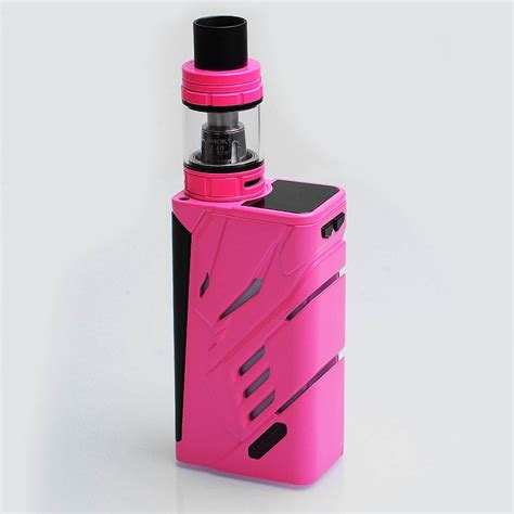 authentic smoktech t priv 220w pink tc vw mod 5ml tfv8 big baby kit