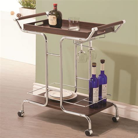 serving cart 910190 serving carts price busters coaster kitchen carts 910065 serving cart northeast