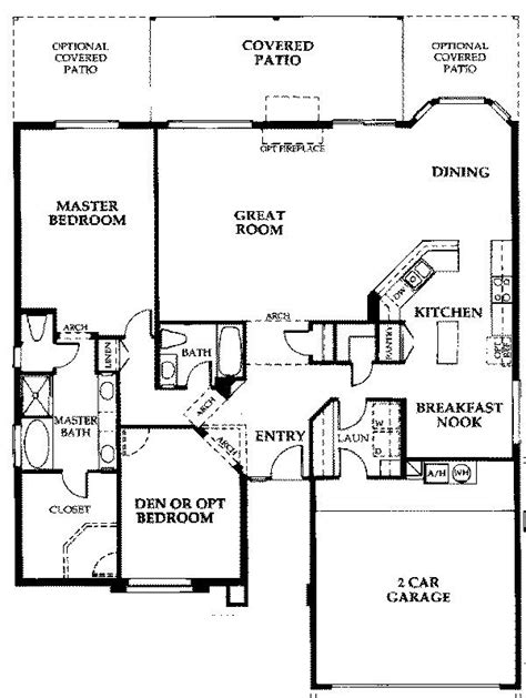 sun lakes floor plans sedona1841 sun lakes az floor plans floor plans pinterest