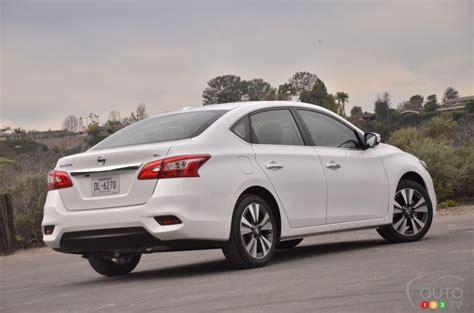 2016 nissan sentra impressions car reviews auto123
